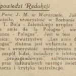 """""""Świat"""" 1927, nr 8"""