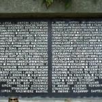 Nazwiska osób, które zginęły w egzekucji na Wzgórzach Wuleckich