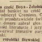"""""""Gazeta Lwowska"""" 1928, nr 16"""