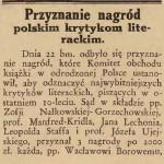 """""""Gazeta Lwowska"""" 1928, nr 272 (1)"""