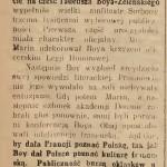 """""""Gazeta Lwowska"""" 1927, nr 43"""