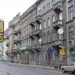 Ulica Romanowicza (obecnie Saksahańskiego) we Lwowie