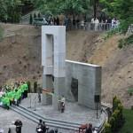 Odsłonięcie pomnika profesorów lwowskich