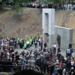 Uroczystość odsłonięcia pomnika profesorów lwowskich