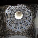 Wnętrze kopuły kaplicy Boimów