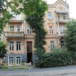 Ulica Kurkowa (obecnie Łysenki), gdzie mieszkali Blankenheimowie