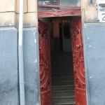 Wejście do kamienicy przy ulicy Kurkowej 29