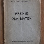 """""""Premie dla matek"""" z odręcznym wpisem dla hrabiny Wodzickiej, fot. Monika Śliwińska"""