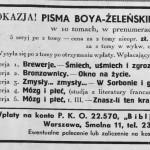 """""""Wiadomości Literackie""""  1933, nr 44"""