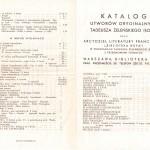 Folder reklamowy Biblioteki Boya (1935)