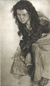 Stanisław Wyspiański, Portret Zofii Żeleńskiej, 1904