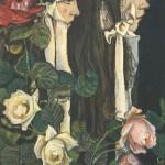 Stanisław Wyspiański, Portret podwójny Elizy Pareńskiej, 1905