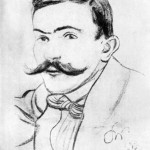 Stanisław Wyspiański, Portret Tadeusza Żeleńskiego, 1894