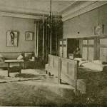 Sypialnia w mieszkaniu Zofii i Tadeusza Żeleńskich
